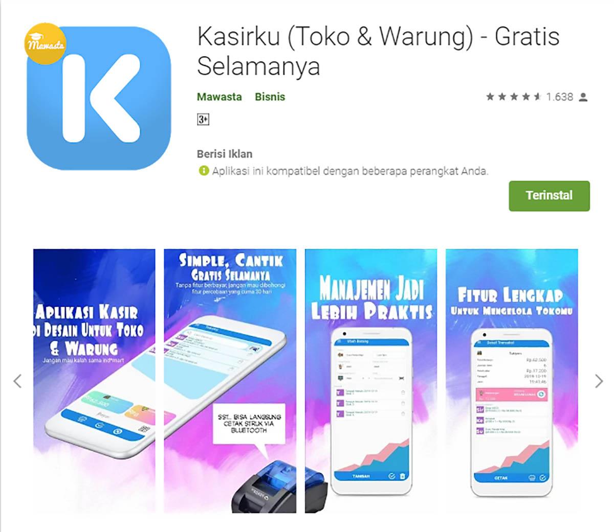 Rekomendasi Sistem Aplikasi Kasir/POS (Point of Sale) - Kasirku