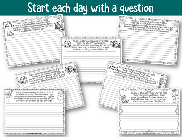 https://www.teacherspayteachers.com/Product/Morning-Meeting-Greeting-Activities-and-Writing-Prompts-for-the-Whole-Year-4209589?utm_source=coronacoaster%20blog%20post&utm_campaign=calendar%20questions%20for%20the%20year