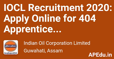 IOCL Jobs: 404 jobs in IOCL ... Vacancy Details