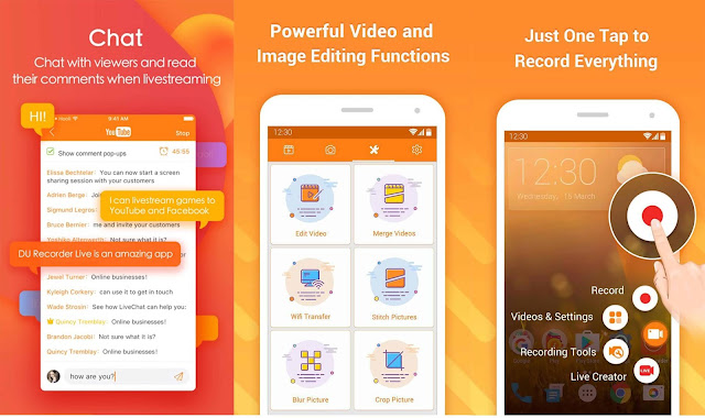 DU Screen Recorder Premium Apk For Free [Original Premium One]