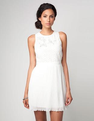 Resultado de imagen para vestidos blancos para reuniones