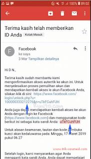 Cara Membuka Akun FB Yg Terkunci Melalui Konfirmasi Identitas