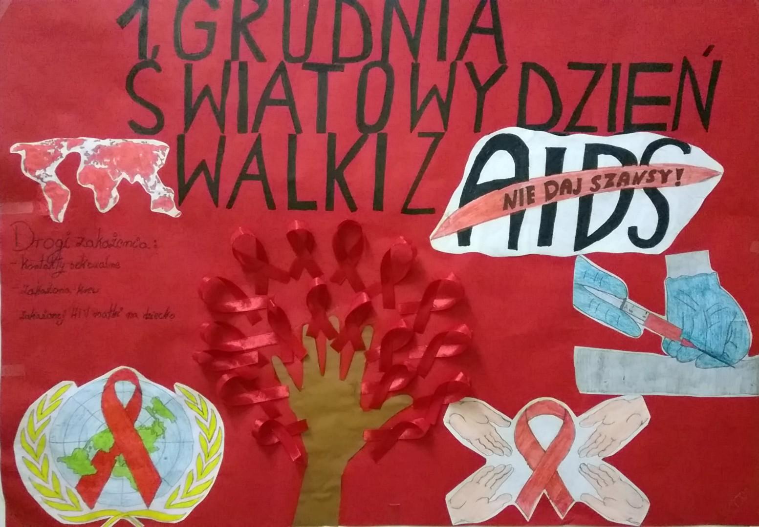 Zstomaszowo światowy Dzień Walki Z Aids