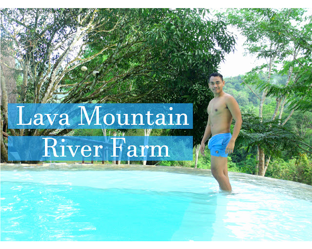 FaceCebu Author, Mark Monta at Lava Mountain River Farm