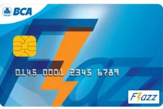 Kartu e-Money Flazz BCA