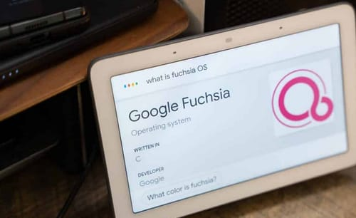 Google has officially launched the Fuchsia OS