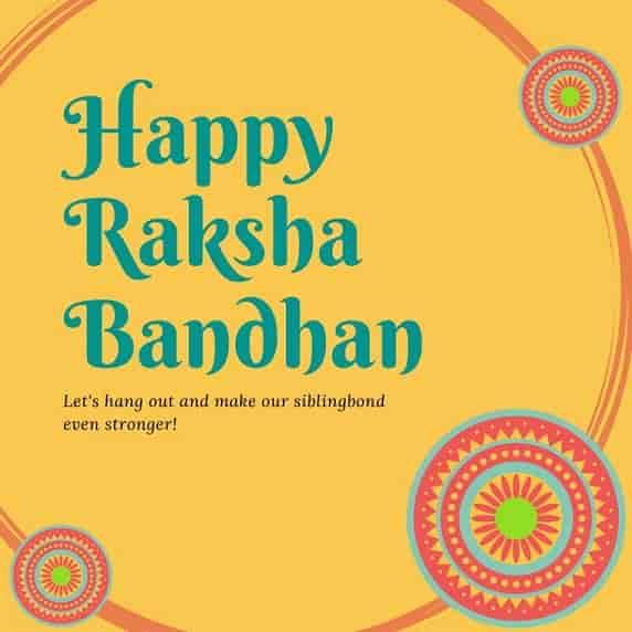 raksha bandhan wishes message