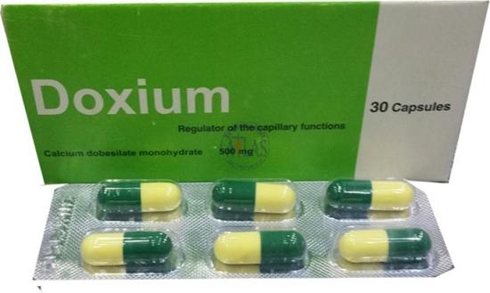 سعر ودواعي استعمال أقراص دوكسيوم Doxium لعلاج البواسير