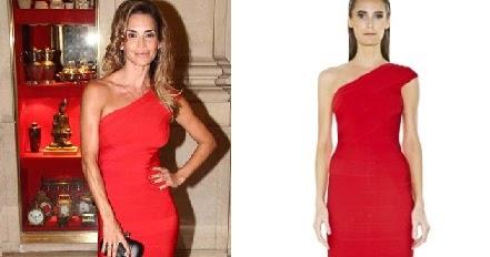655c3725b Tumanas Style Blog  Que vestido tenía María Vazquez en los personajes del  año 2012 de la revista GENTE