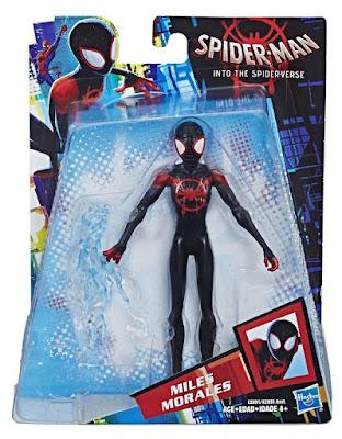 SPIDERMAN : Un nuevo universo Miles Morales : Figura Articulada - Muñeco 15cm SPIDER-MAN : into the spider-verse Producto Oficial Película 2018 | Hasbro E2891 | A partir de 4 años COMPRAR ESTE JUGUETE