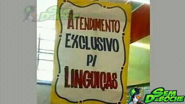 PROFESSOR LINGUIÇA FICOU FELIZ