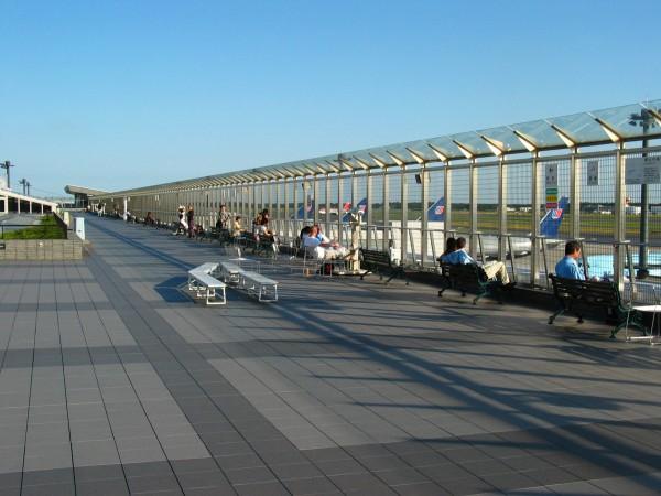 飛行場の測候所: 松山機場的雞肋觀景臺