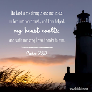 Lord, when I feel weak and overwhelmed, help me to remember that You are my strength and shield. I don't have to figure everything out. I don't have to worry. I don't have to stress. I can and will trust You, rely on You, and confidently lean on You. Thank you for helping me, Lord. In the strong name of Jesus, Amen. Blog Post: Praying When Your Faith Feels Small