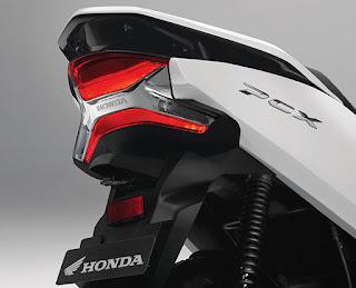 LED Taillight  Efek pencahayaan menjadi lebih terang & stylish.
