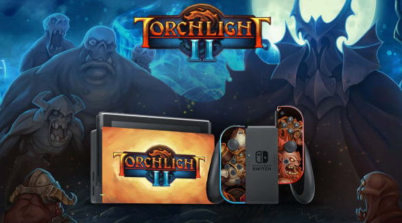 Gamespot is giving away a custom painted Torchlight II Nintendo Switch Console, a digital copy of Torchlight II and some other great gamer prizes!