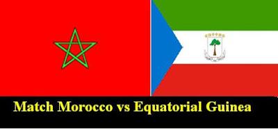 مباراة المغرب وغينيا الاستوائية اليوم Match Equatorial Guinea vs Morocco