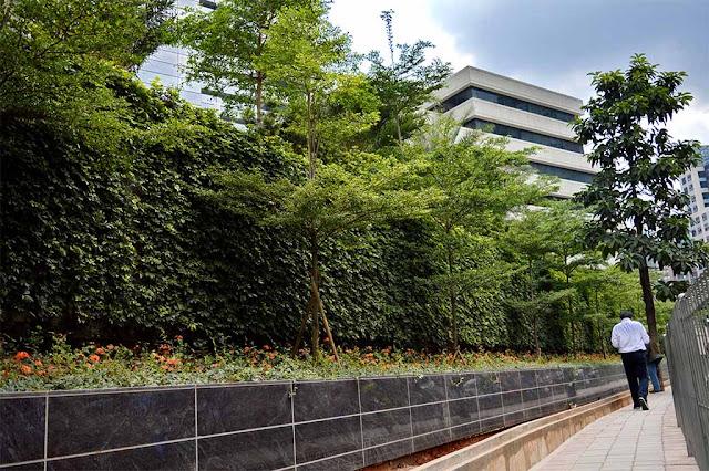 Kuningan Green Wall