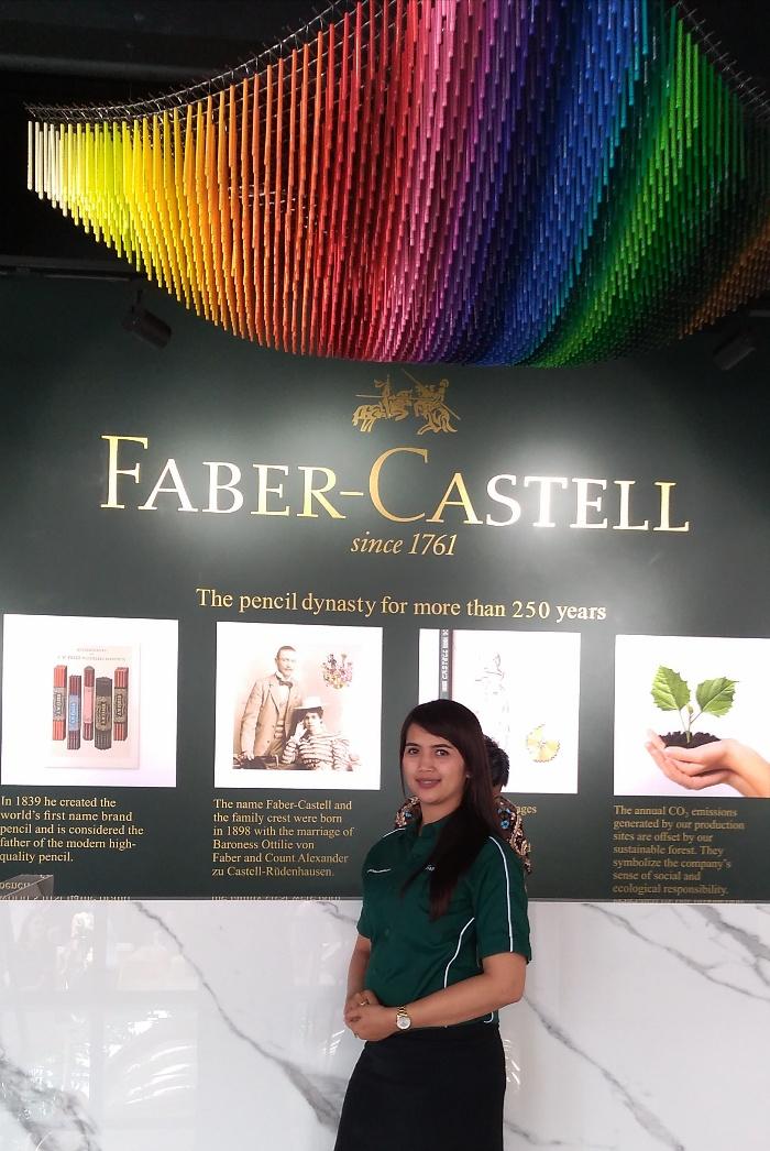 kantor baru faber castell cabang surabaya dengan konsep