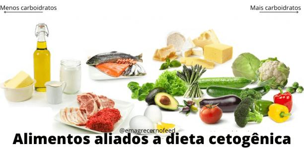 Alimentos aliados a dieta cetogênica
