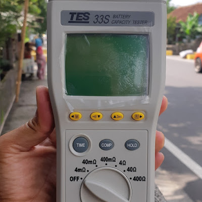 TES33S Battery Capacity Tester