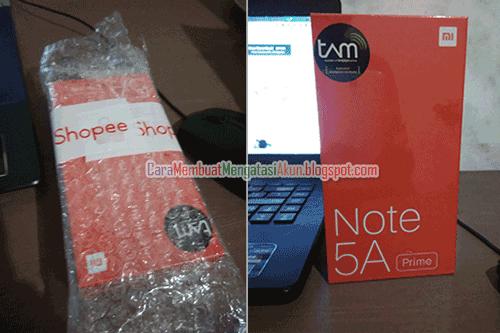 cara mendapatkan flash sale di shopee xiaomi redmi note 5a prime