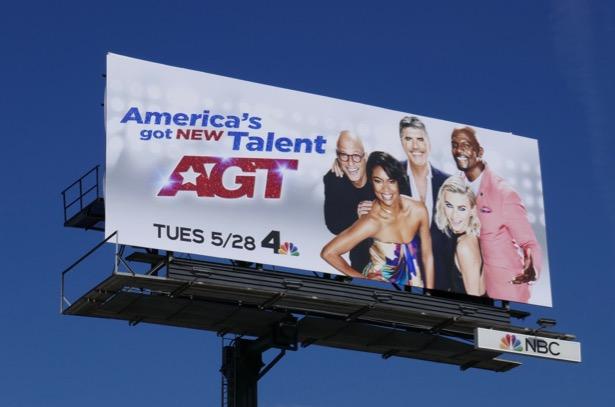 Americas Got Talent season 14 billboard