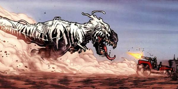 venom t-rex asal usul kekuatan adalah