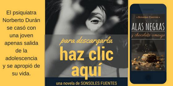 descargar la novela Alas negras y chocolate amargo, de Sonsoles Fuentes