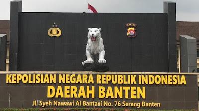 Monumen Maung Polda Banten Baru, Lebih Putih Cerah