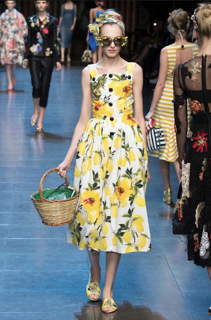 Floral spring summer dress