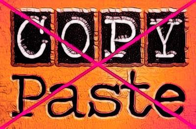 Saya Malu menjadi Blogger Copas