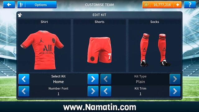 Baju Dream League Soccer Keren