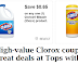 High-Value Clorox Coupons = 70¢ Bottles of Bleach!