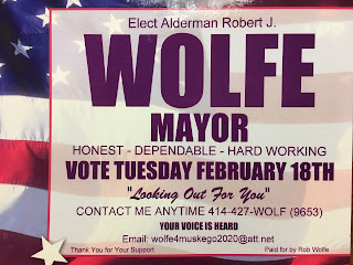 Rob Wolfe for Muskego Mayor