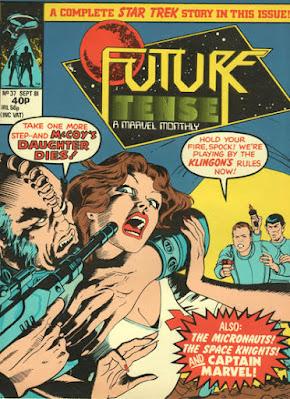 Future Tense #37, Star Trek.