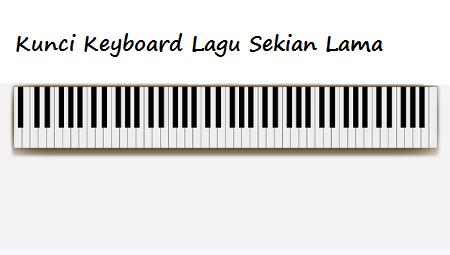 Kunci Keyboard Lagu Sekian Lama Calonpintar Com