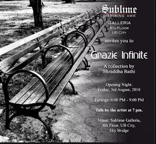 Grazie Infinite by Shraddha Rathi in Bangalore, Art Scene India