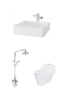 Thiết bị phòng tắm, vệ sinh sang trọng