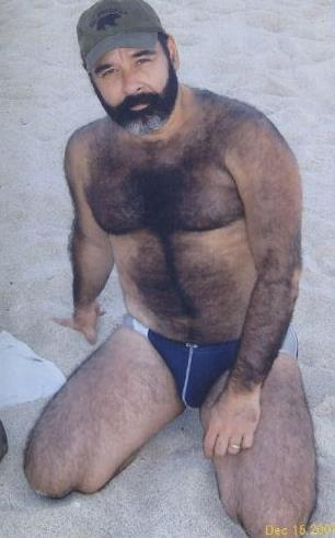 hairy belly men