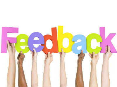 Gathering feedback is a great idea to market your business-400x300