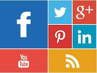 Cara Membuat Widget Social Media Metro Style di Blog