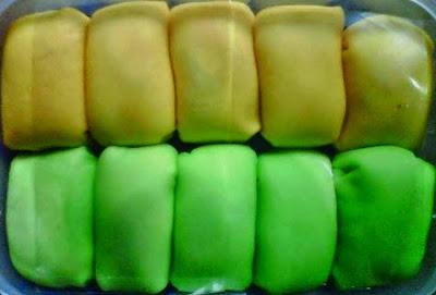 Foto Pancake Durian Asli Enak
