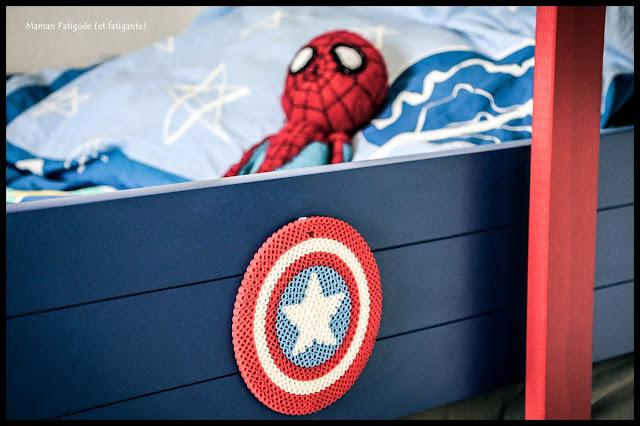 chambre super héros