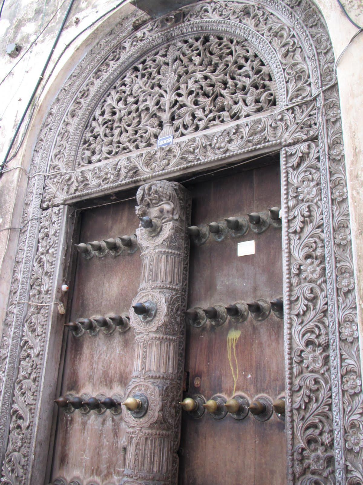 Door Of Stone Of Doors Of Zanzibar