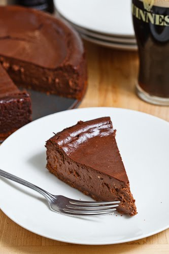 Guinness Chocolate Cheesecake