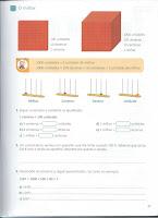 Ficha Matemática 3o.ano - Unidades, Dezenas, Centenas...