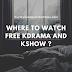 Free Korean Drama and Korean Show Website List