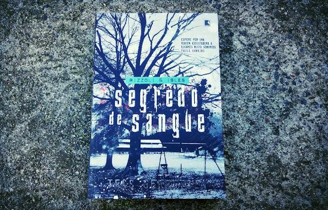 [RESENHA #401] SEGREDO DE SANGUE - TESS GERRITSEN