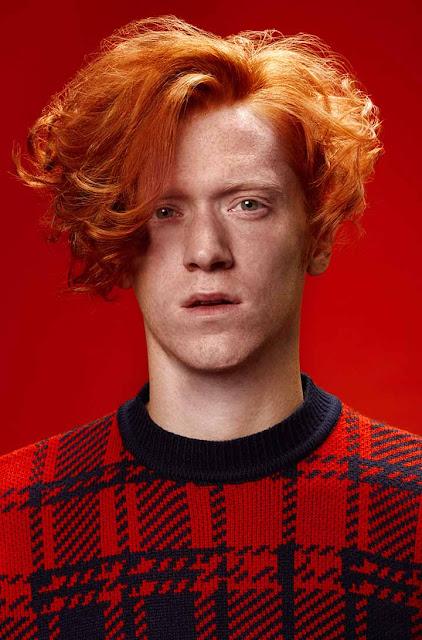 color de pelo hombres naranja