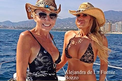 Alejandra de La Fuente Bozzo Poso Para la Revista Careta